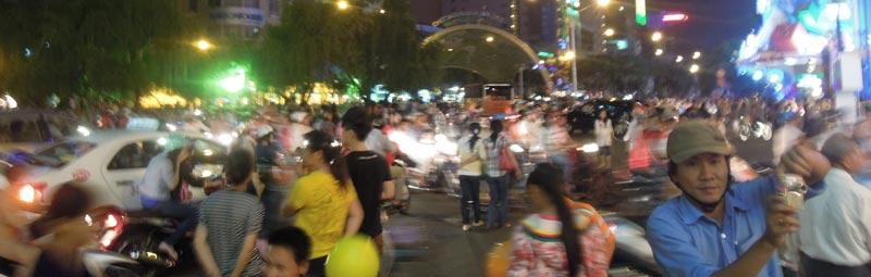 TrainerTrack Vietnam - Die aufregenden Straße von Siagon
