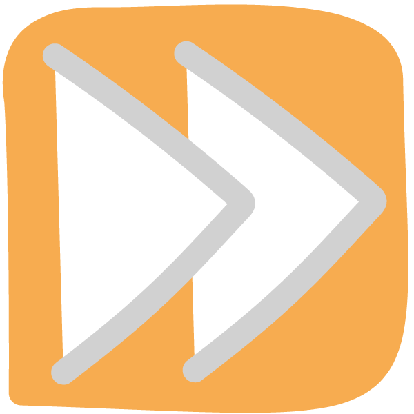 Icon: Vorspulen Knopf - Projekte Beschleunigen
