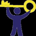 Icon: Entscheidungen, Dein Schlüssel zum Erfolg.