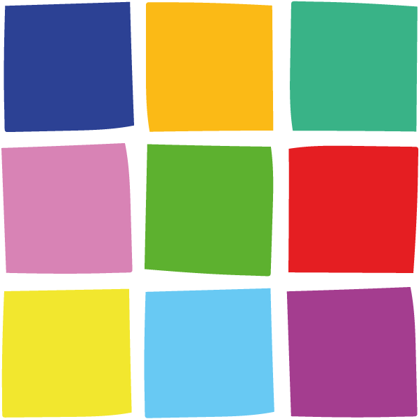 Icon: Ursprungsressourcen Quadrate Farbe