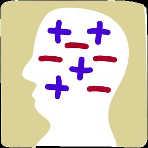 Positive und negative Glaubenssätze im Kopf