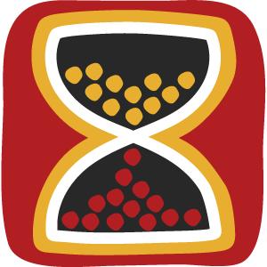 Zeit Gedanken Aboriginal Muster
