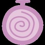 Selbsthypnose-Uhr mit Spirale