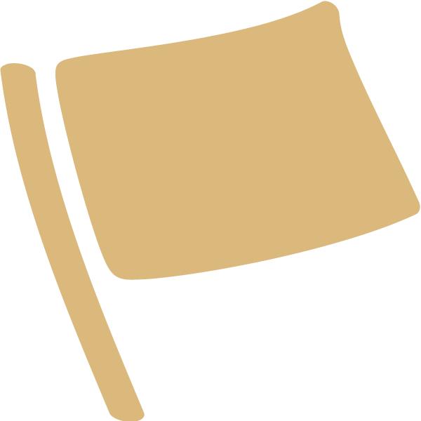 Flagge Emotionale Unabhängigkeit