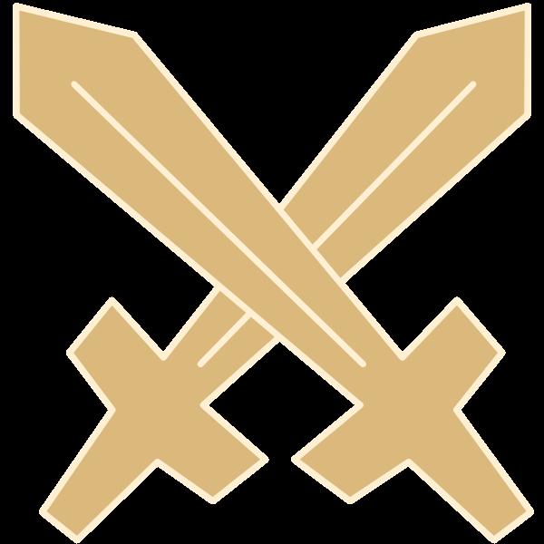 Schwerter gekreuzt - Umgang mit Aggression