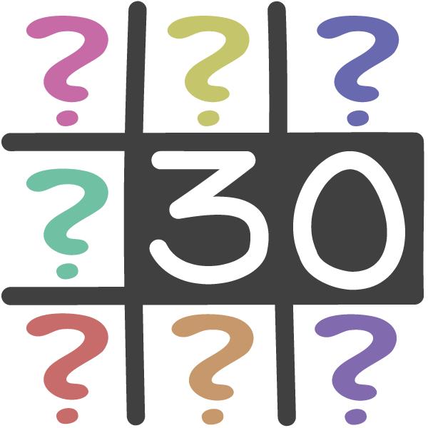 30 Fragen - Probleme lösen - 3 gewinnt