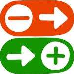NLP Metaprogramme Weg-Von und Hin-Zu Pfeile