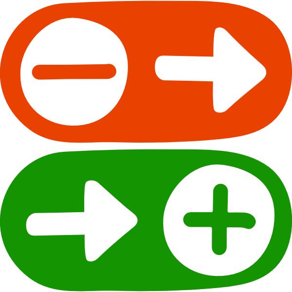 NLp Metaprogramm Weg-von und Hin-zu Pfeile