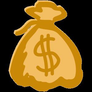 Geldsack Dollar Reichtum