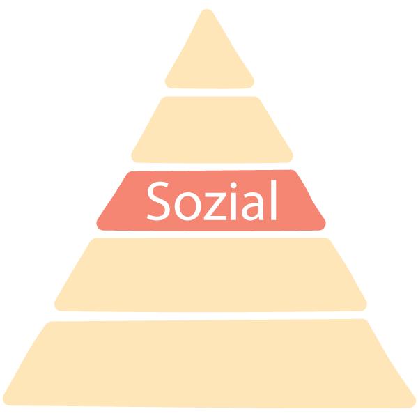 Maswlosche Bedürfnisspyramide Stufe 3: Sozial