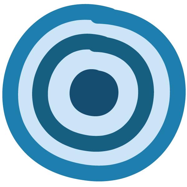 Icon: Zielscheibe - Konzentration